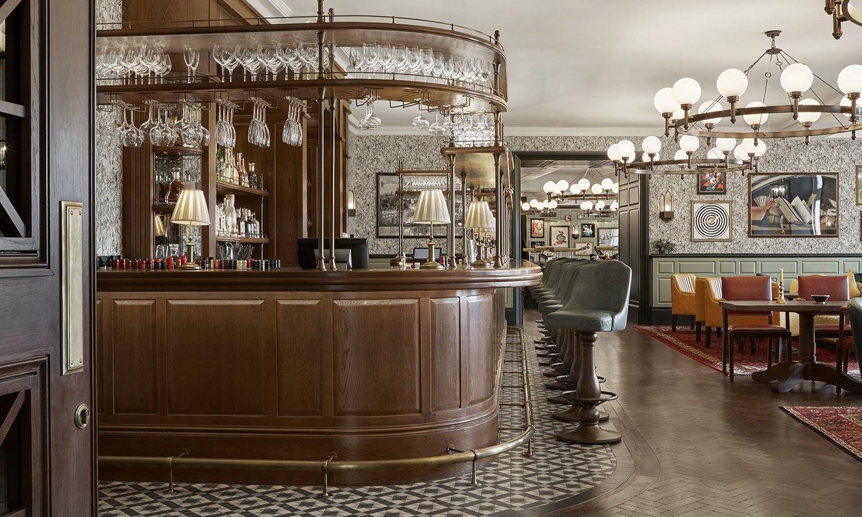 University Arms Hotel, Cambridge, Interior designed by Martin Brudnizki at MBDS.