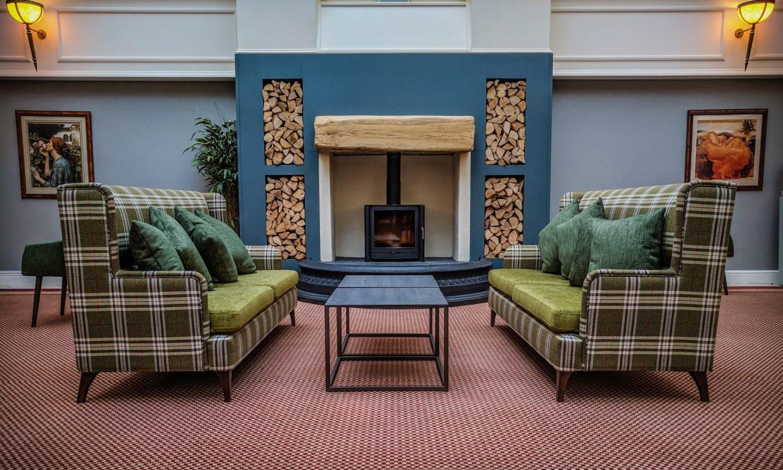 Woodbury fireplace
